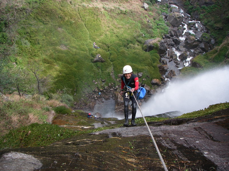 Rock Climbing Photo: Shyange Khola (130)m
