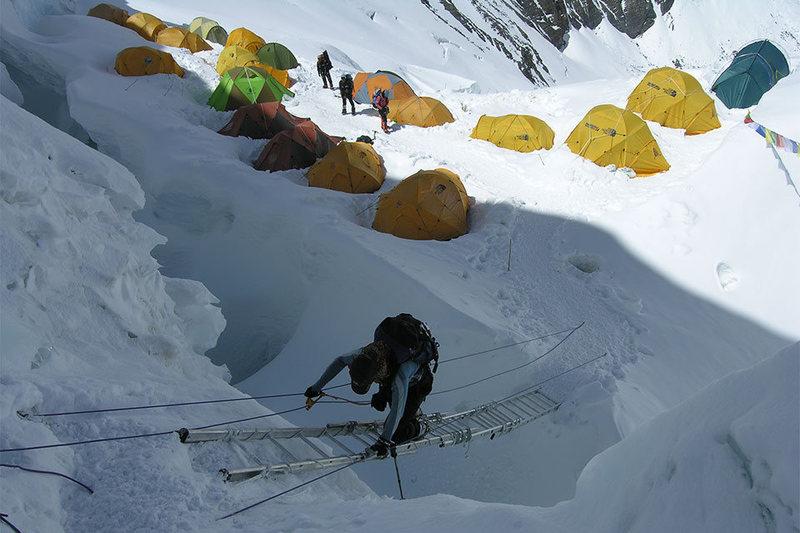 Rock Climbing Photo: Everest Expedition