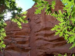 Rock Climbing Photo: Cresent Corner, 5.9+ on South Gateway. fun moves, ...