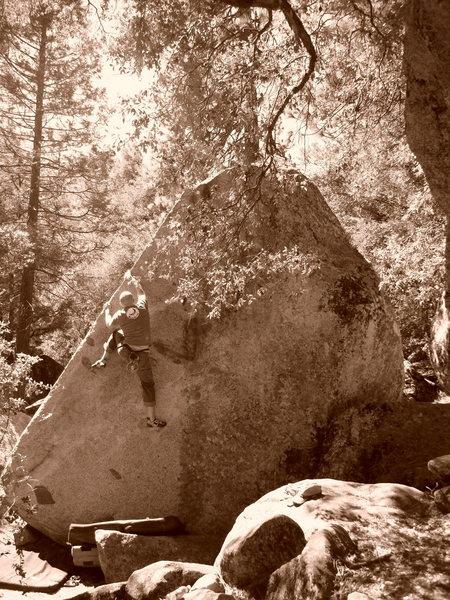 Rock Climbing Photo: Cocaine Corner