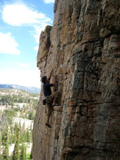 Rock Climbing Photo: Me on Sun Dog.