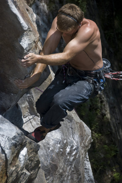 Rock Climbing Photo: RB.