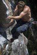 Rock Climbing Photo: RB.