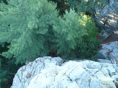 "Rock Climbing Photo: Looking down from the top of ""Air""  phot..."