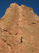 Rock Climbing Photo: Rap off from Montezuma's Tower
