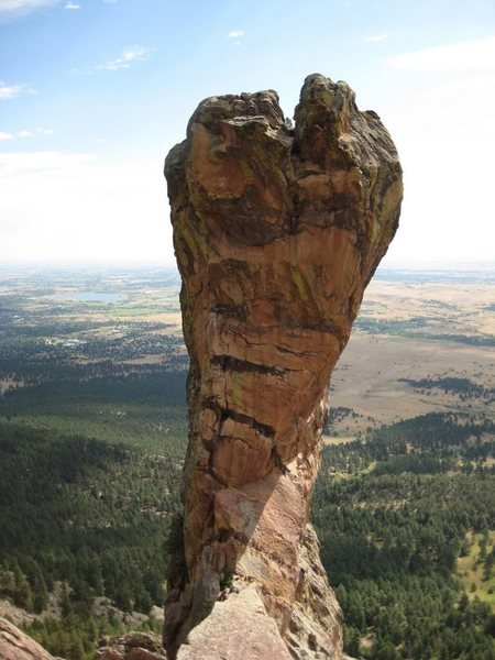 Rock Climbing Photo: The Maiden from top of P1.