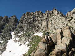 Rock Climbing Photo: Jagged Mountain (13,824)my final Colorado centenni...