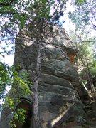 Rock Climbing Photo: Petenwell Rock July 2007