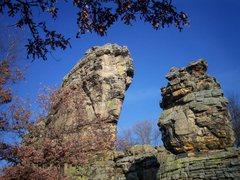 Rock Climbing Photo: Shiprock November 2006