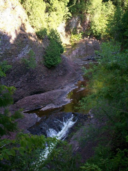 Black River Gorge of Upper Michigan