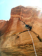 Rock Climbing Photo: Steep and Wide