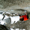 Climber: Daniel Woods.<br> <br> Photo: Andy Mann.
