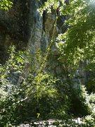 Rock Climbing Photo: Route 66 5.12a