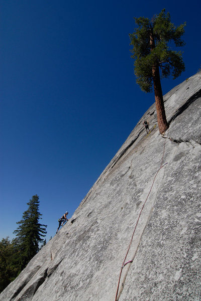"Rock Climbing Photo: Bakersfield ""locals"" climb a recently ad..."