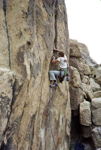 Rock Climbing Photo: Does this photo look like the start of this route?...