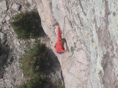 Rock Climbing Photo: crux of mainliner