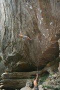 Rock Climbing Photo: Scary clip