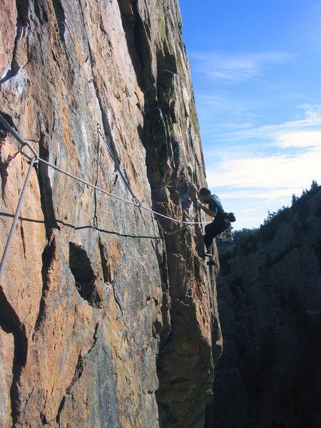 Rock Climbing Photo: Christmas Day, 2005.