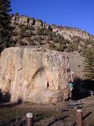 Rock Climbing Photo: Wolcott.