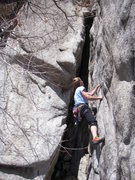 Rock Climbing Photo: The start of the 3 Amigios.