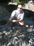 "Rock Climbing Photo: ""Undercling!"" ... Christian on the great..."