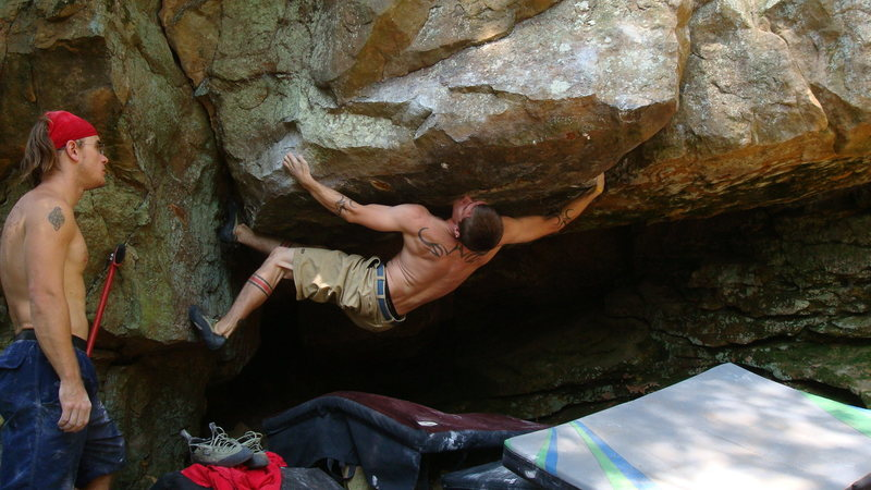 Rock Climbing Photo: I like it this much!!