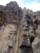Rock Climbing Photo: I cut the bottom of the route when taking this pho...