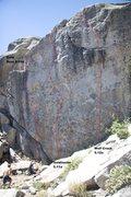Rock Climbing Photo: Wolf Crack Topo, 5.12a