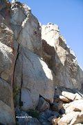 Rock Climbing Photo: Escargot Topo (in profile)