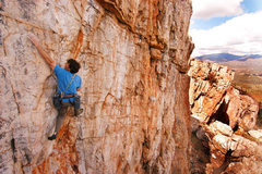 Rock Climbing Photo: One of Tamo's many classic sport climbs, Phantom A...