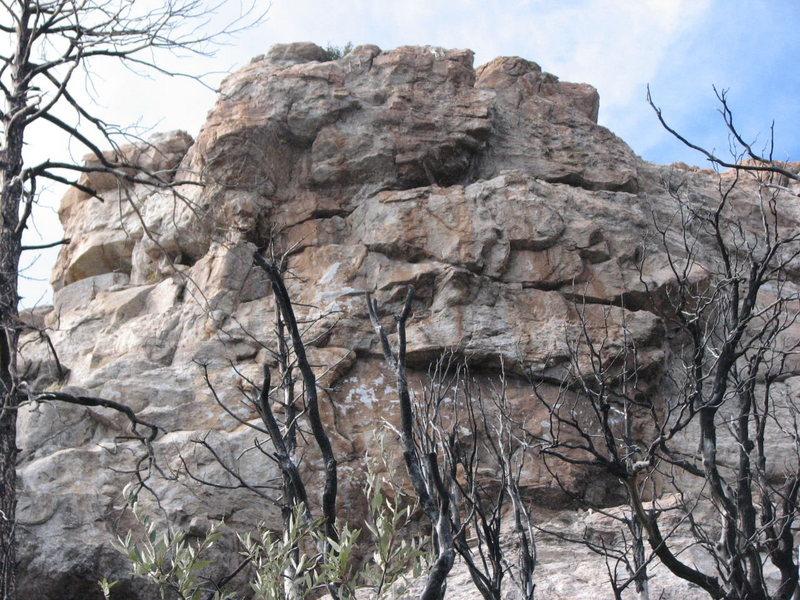 Cave Crag Wall