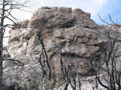 Rock Climbing Photo: Cave Crag Wall