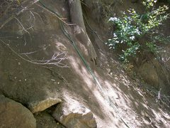 Rock Climbing Photo: Approach to Jungle Book when leaving the access ro...
