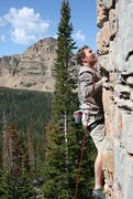 Rock Climbing Photo: Look at the view, and all of the features on the w...