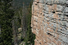 Rock Climbing Photo: View of the route
