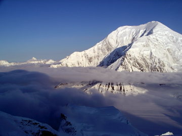 Mt Foraker at sunrise