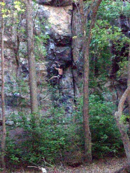 The only people camping and climbing besides me.  They loved it.  How could you not?