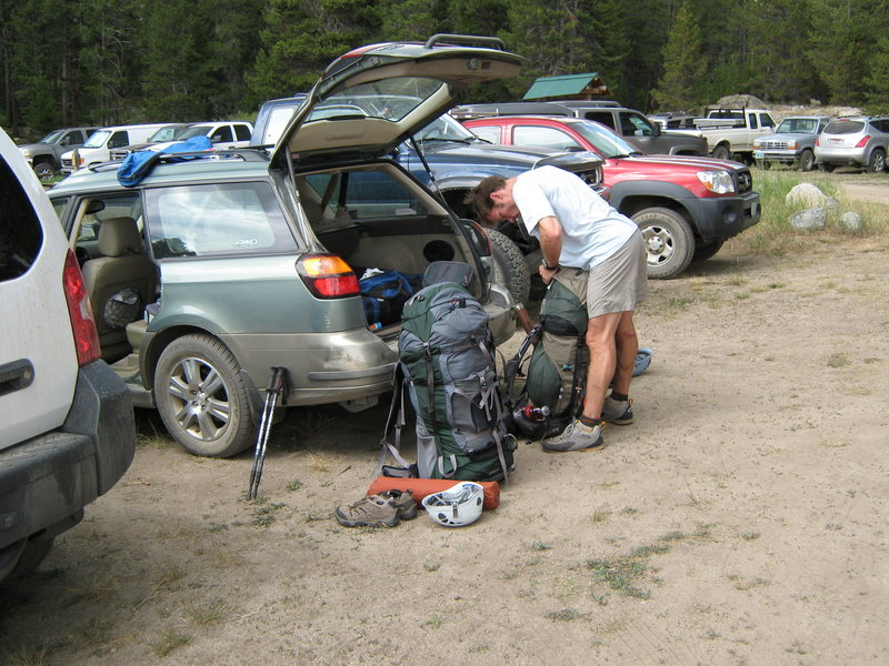 Rock Climbing Photo: Preparation.....