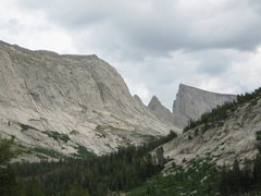 Rock Climbing Photo: East Temple Steeple Peak and Haystack Mountain