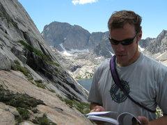 Rock Climbing Photo: The Central Corner, Haystak Mountain 5.8+