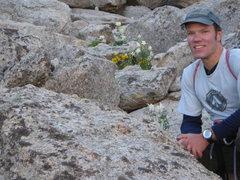 Rock Climbing Photo: Approach to Steeple Peak