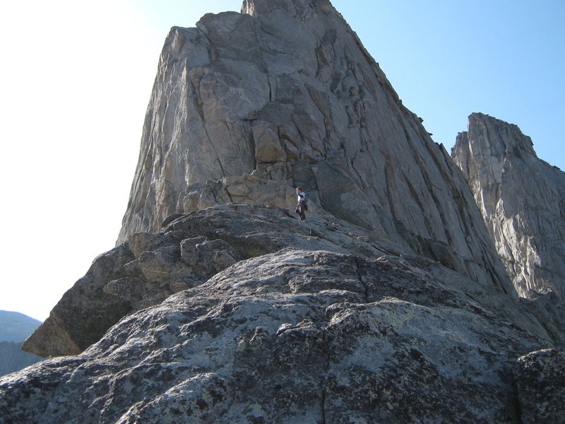 Rock Climbing Photo: Steeple Peak Shoulder