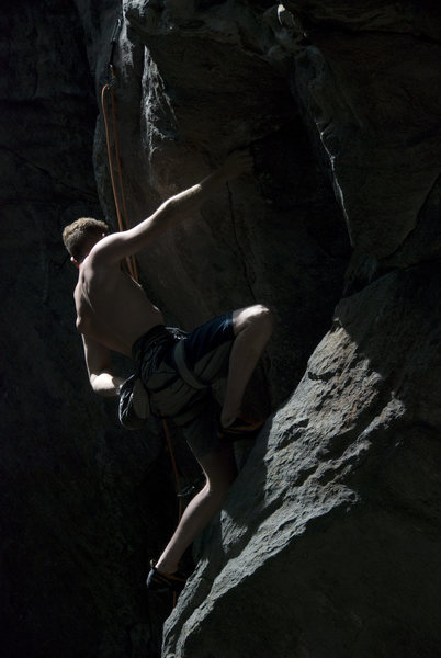 Rock Climbing Photo: Frank from Dutchland on horned behavior.