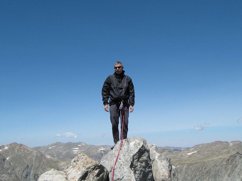 Steeple Peak summit