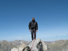 Rock Climbing Photo: Steeple Peak summit