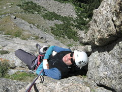 Rock Climbing Photo: 3rd pitch of the Minor Dihedrals