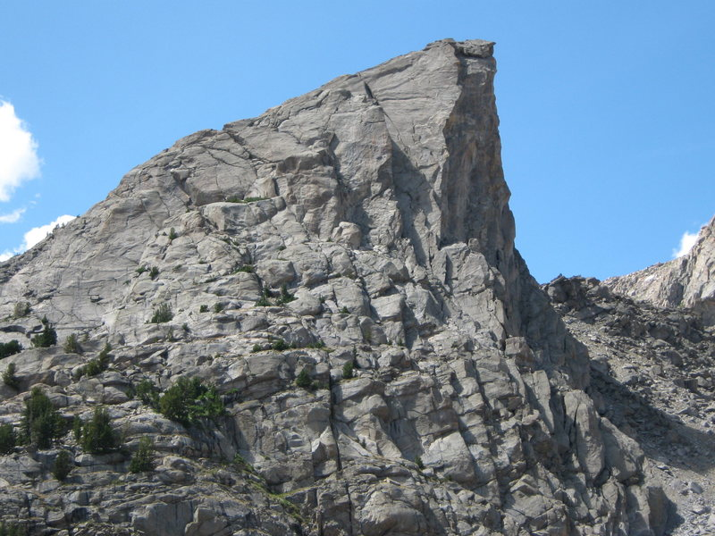 Sundance Pinnacle from the Jackass Pass trail