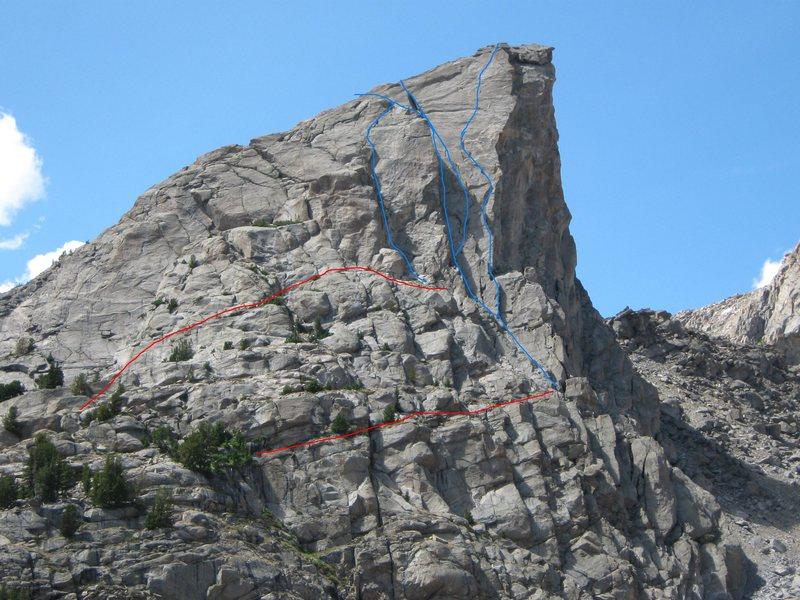 Sundance Pinnacle routes