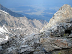 Rock Climbing Photo: Top of Cloudveil Dome looking to the East.  The va...