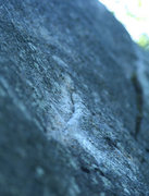 Rock Climbing Photo: sweet vertical crimp